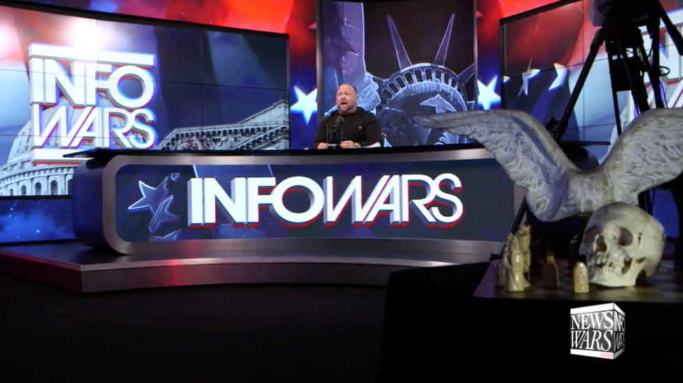 Alex Jones Infowars Studio EXZM Zack Mount January 4th 2021