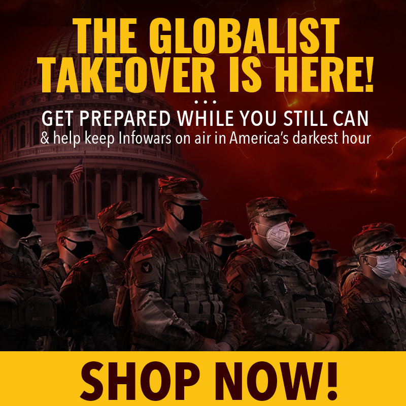 Gloablist Storm InfowarsStore January 19th 2021