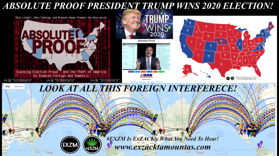 2020 US Presidential Election Foreign Interference EXZM Zack Mount February 6th 2021