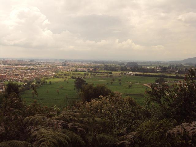Vista desde el Cerro La Conejera