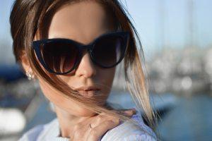 Designer Blue Women's Sunglasses