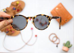 Women's Round Sun Glasses