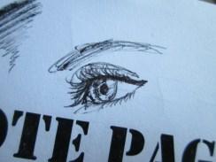 Day 362 7/8/14 Pretty Thoughtful Eye