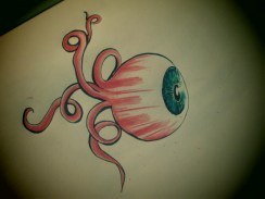 I also saw something like this in a dream! These eyes are getting to me..
