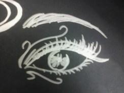 Day 291 4/28/14 Silver Sharpie Eye