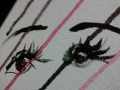 Day 300 5/7/14 Red Eye 2
