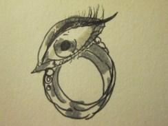 Day 294 5/1/14 Eye Ring