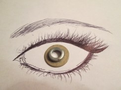 Day 314 5/21/14 Two Little Pieces Eye