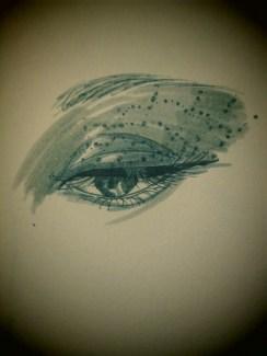 Day 334 6/10/14 Spiderweb Eye Jewelry