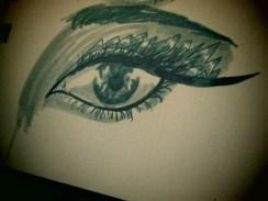 Day 338 6/14/14 Triangle-ey Eye
