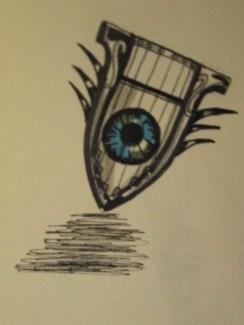 Day 350 6/26/14 Eye Harp