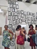 (6) Devant les dessins de Timothée Talard, il nous dirigeait vers «Le porte containers et les gravats de la galerie (2011) ».
