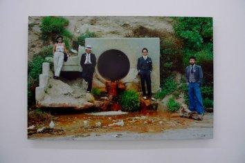 """Asco """"Asshole Mural"""", 1975, Photographie couleur par Harry Gamboa Jr., Tirage monté sur aluminium, 2007"""