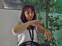 Lydie Marchi au vert... & 15. « Take away », une performance culinaire proposée par le collectif Manuel, avec les Micheline et Joseph Meidan lors du vernissage et du salon à partir de 11h. / © Laure JEGAT 2014