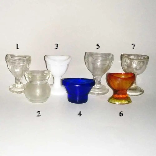 Eye Wash Cup Collection of 7