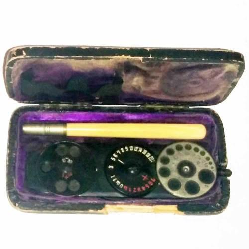 Morton opthalmoscope 1883
