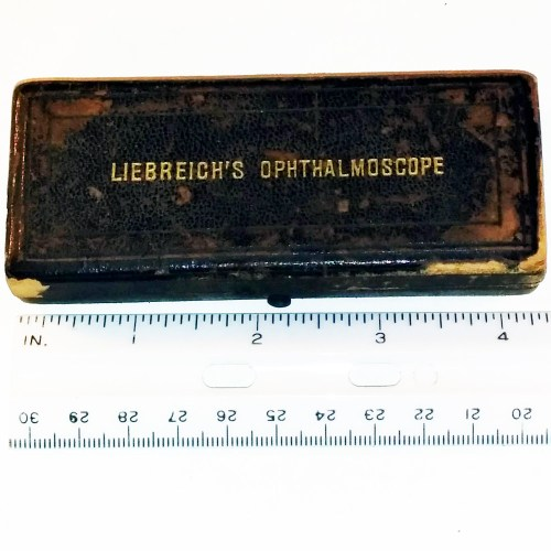 Liebreich ophthalmoscope