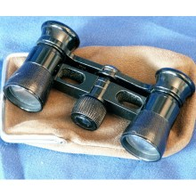 Small theater binoculars (Busch multinett).Galilean.