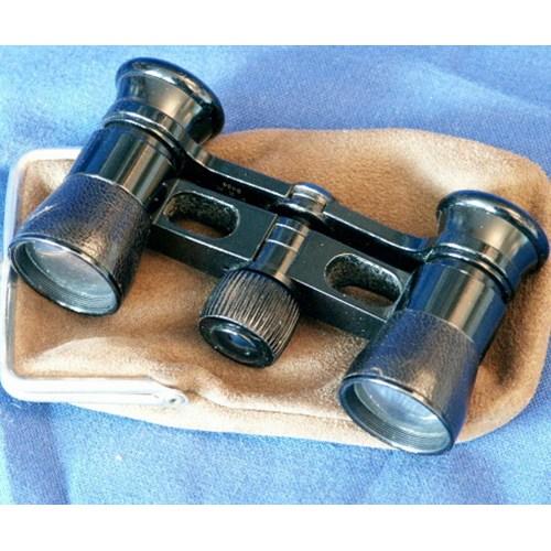 Small theater binoculars (Busch multinett).Galilean.