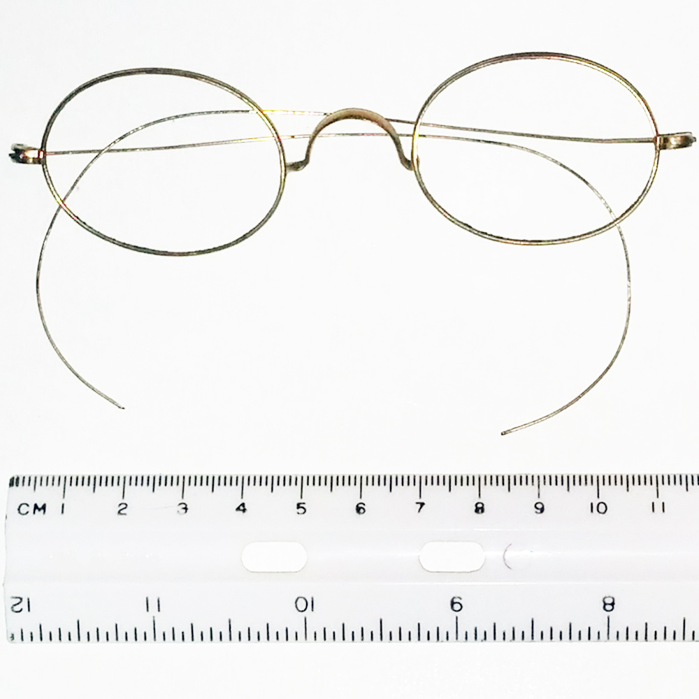 gold filled wire rim spectacles