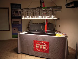 on-site scientific and industrial test lighting services