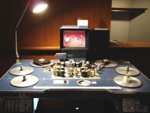 Moviola - mesa de montaje de películas 1990