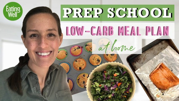 30-Day Low-Carb Meal Plan   Prep School   EatingWell