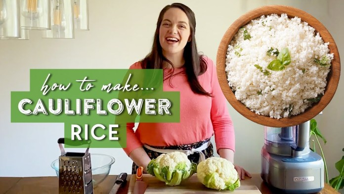 Try OutThis EXTREMELY Tasty Cauliflower Rice Recipe #WithMe   Keto, Low-Carb   Taste The Trend