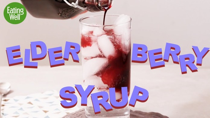 Immune Boosting Elderberry Syrup Recipes   Fighting Off That Cold   EatingWell