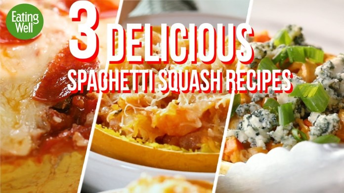 3 AMAZING and EASY Spaghetti Squash Recipes | Low-Carb and Delicious | EatingWell