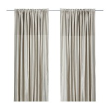 Off the shelf curtain panels