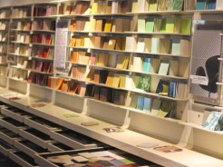 Material lab sample wall