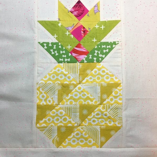 Eye Candy Quilts Candied Pineapple Free Pattern