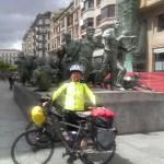 Bull running Monument (Encierro)