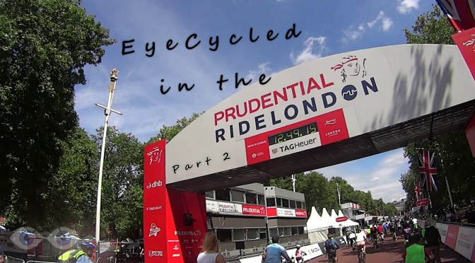 Prudential RideLondon 2015, Part 2 - Free Cycle Day