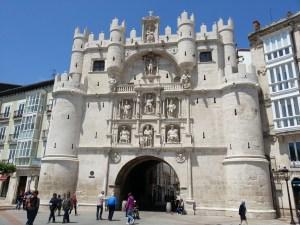 Gateway arch of Santa María