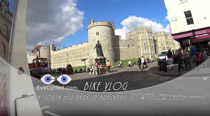 Bike VLog, from Bracknell to Windsor Castle.