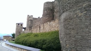 Templars' Castle in Ponferrada