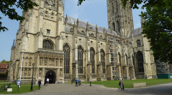Canterbury to Dover, National Cycle Route 16, Via Francigena Pilgrimage