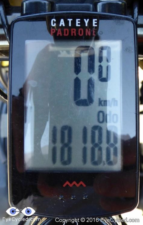 Odometer in San Quirico d'Orcia