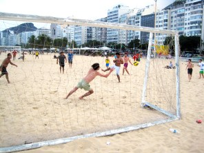 Copacabana Beach, Rio de Janeiro.