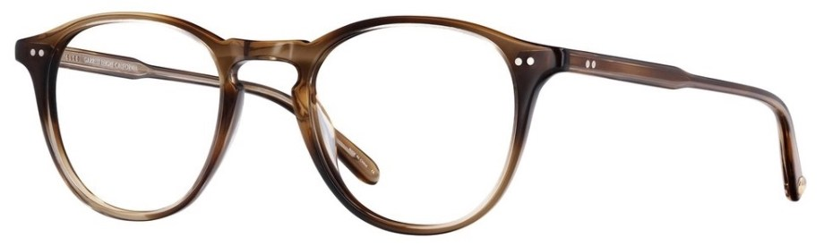 Garrett Leight Hampton_46_Khaki_Tortoise side