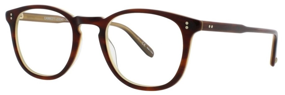 Garrett Leight Kinney_47_Whiskey_Tortoise side