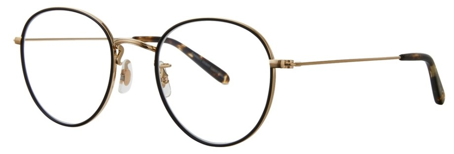 Garrett Leight Paloma_48_Matte_Black-Matte_Gold-Oil_Vinegar side