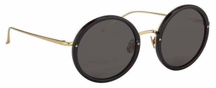 Linda Farrow TRACY sunglasses lfl239c11sun black 3:4 side