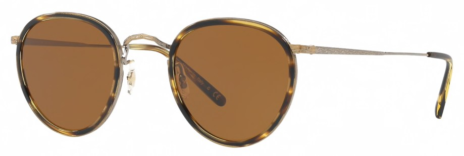 Oliver Peoples MP-2 SUN – Cocobolo 3_4 side