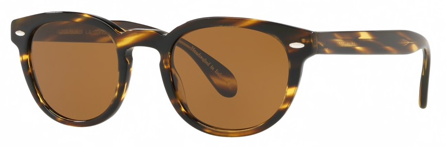 Oliver Peoples SHELDRAKE SUN – Cocobolo 3_4 side