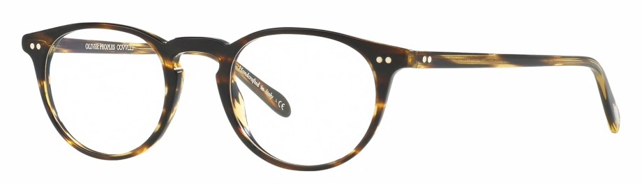 Oliver peoples riley-r cocobolo 3_4 side