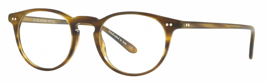 Oliver peoples riley-r moss tortoise 3_4 side