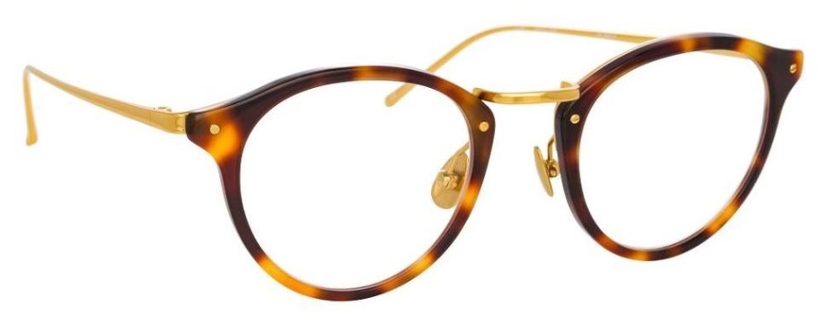 Optical Linda Farrow IDRISS C2 – Tortoiseshell 3:4 side
